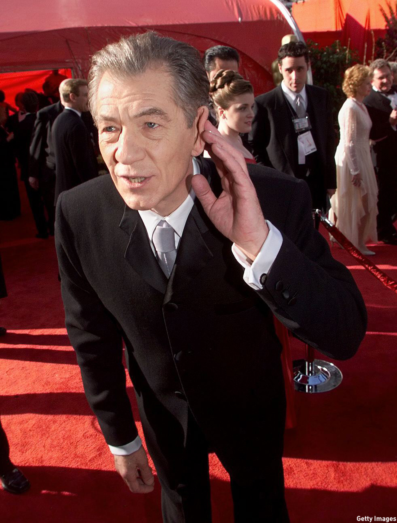 McKellen arrived to the 71st Annual Academy Awards in 1999, where he was nominated for Best Actor for his role in 'Gods and Monsters.' (Vince Bucci/AFP/Getty Images)