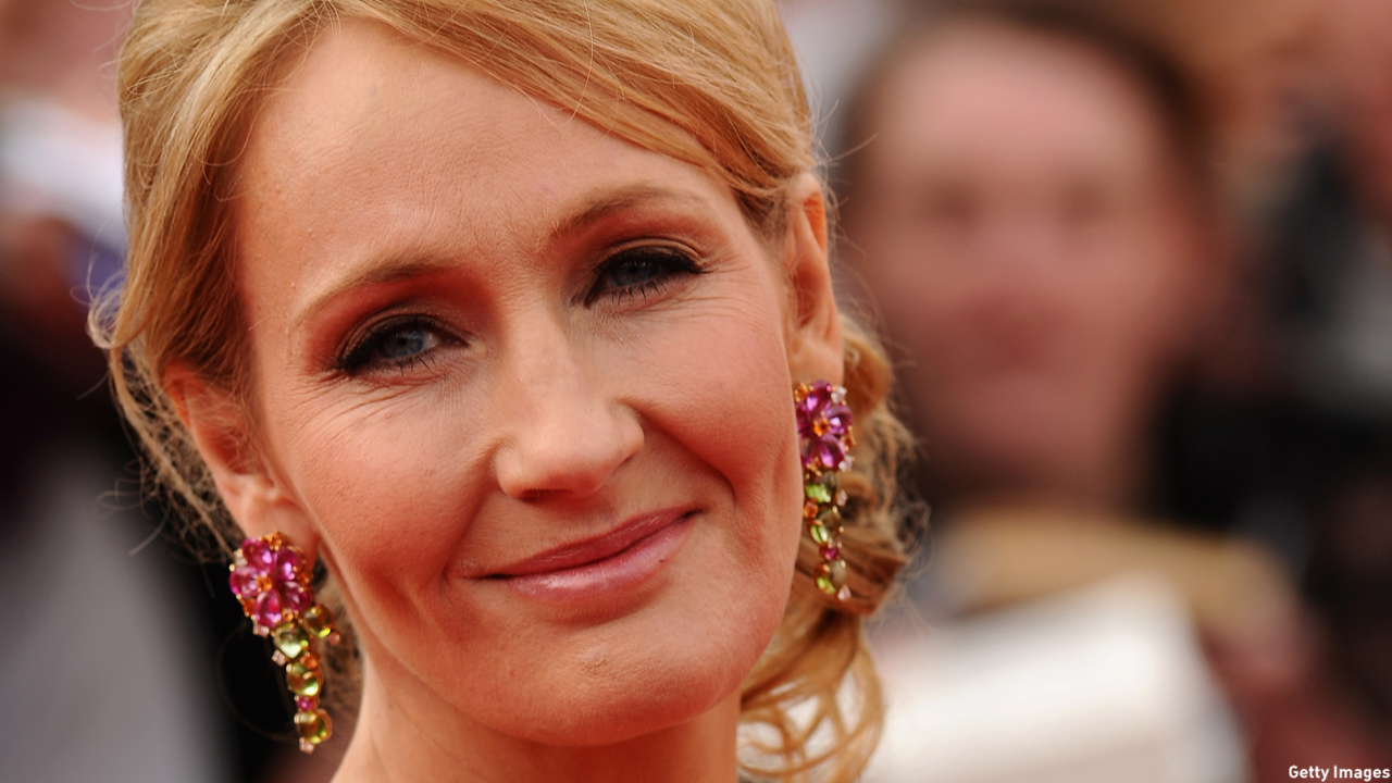 J.K. Rowling, whose actual name is Joanne, turns 50 today. (Ian Gavan/Getty Images)