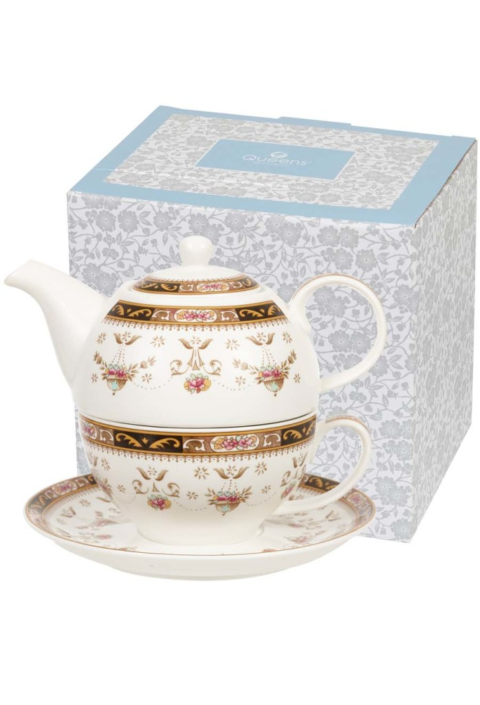 This tea-for-one set would come in handy. (BBC Shop)