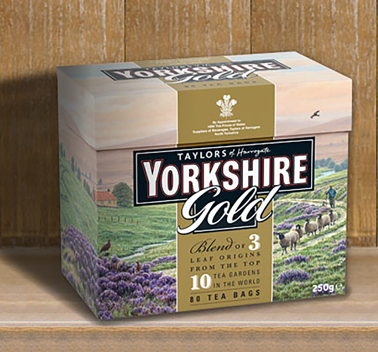 Some Yorkshire Gold would be a nice way to wash down these treats. (Yorkshire Tea)