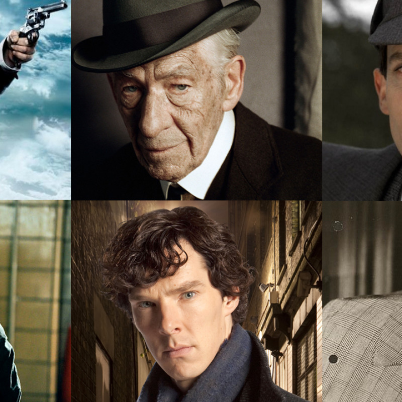 The Sherlocks Holmes(es) (Pic: BBC/Miramax/ITV/Silver Pictures/CBS/20th Century Fox)