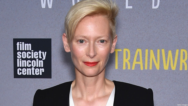 Tilda Swinton (Pic: Dimitrios Kambouris/Getty Images)
