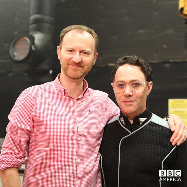 Mark Gatiss and Reece Shearsmith reunite.