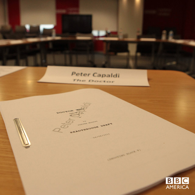 Peter's script from the Episode 12 readthrough