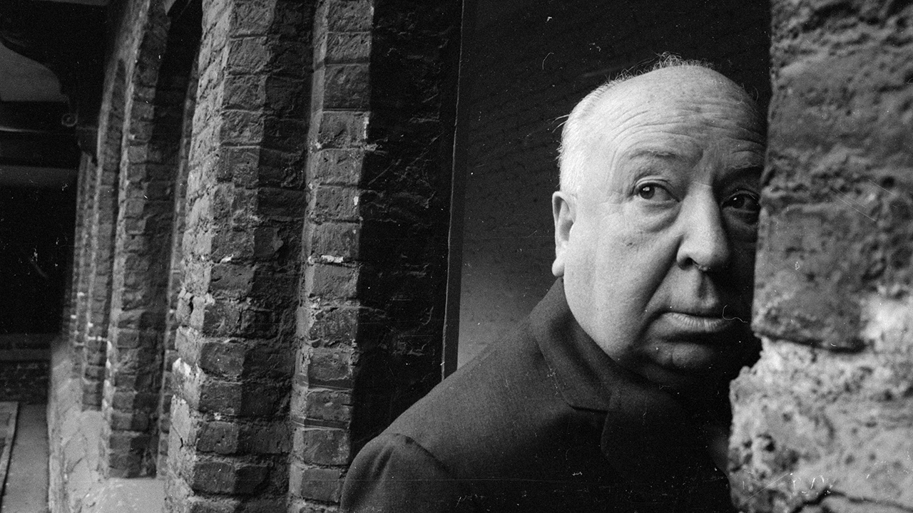 Alfred Hitchcock was sneaky, placing himself in his own films. (Getty Images)
