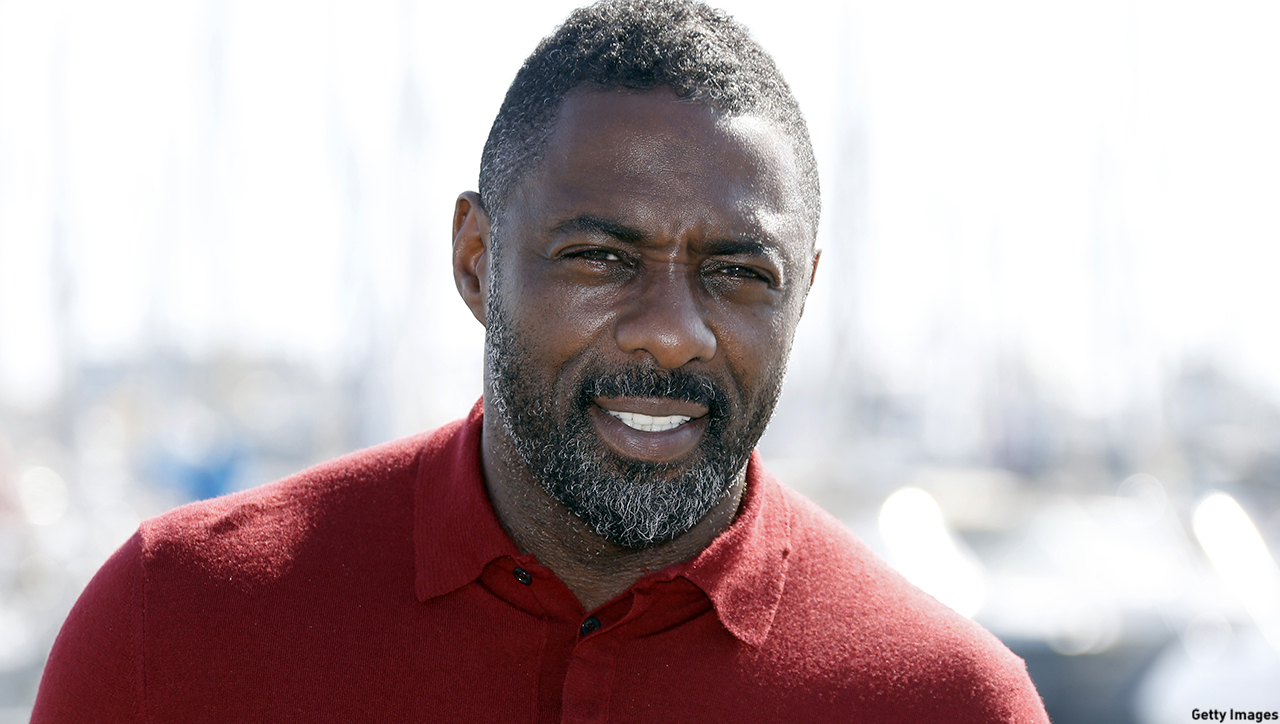 Luther star Idris Elba is The First Maxim Man. (VALERY HACHE/Getty Images)