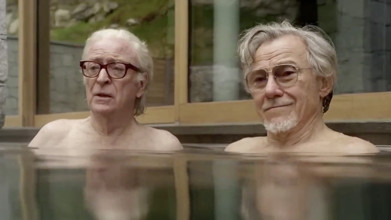 Michael Caine and Harvey Keitel star in 'Youth.' (Photo: Pathé)
