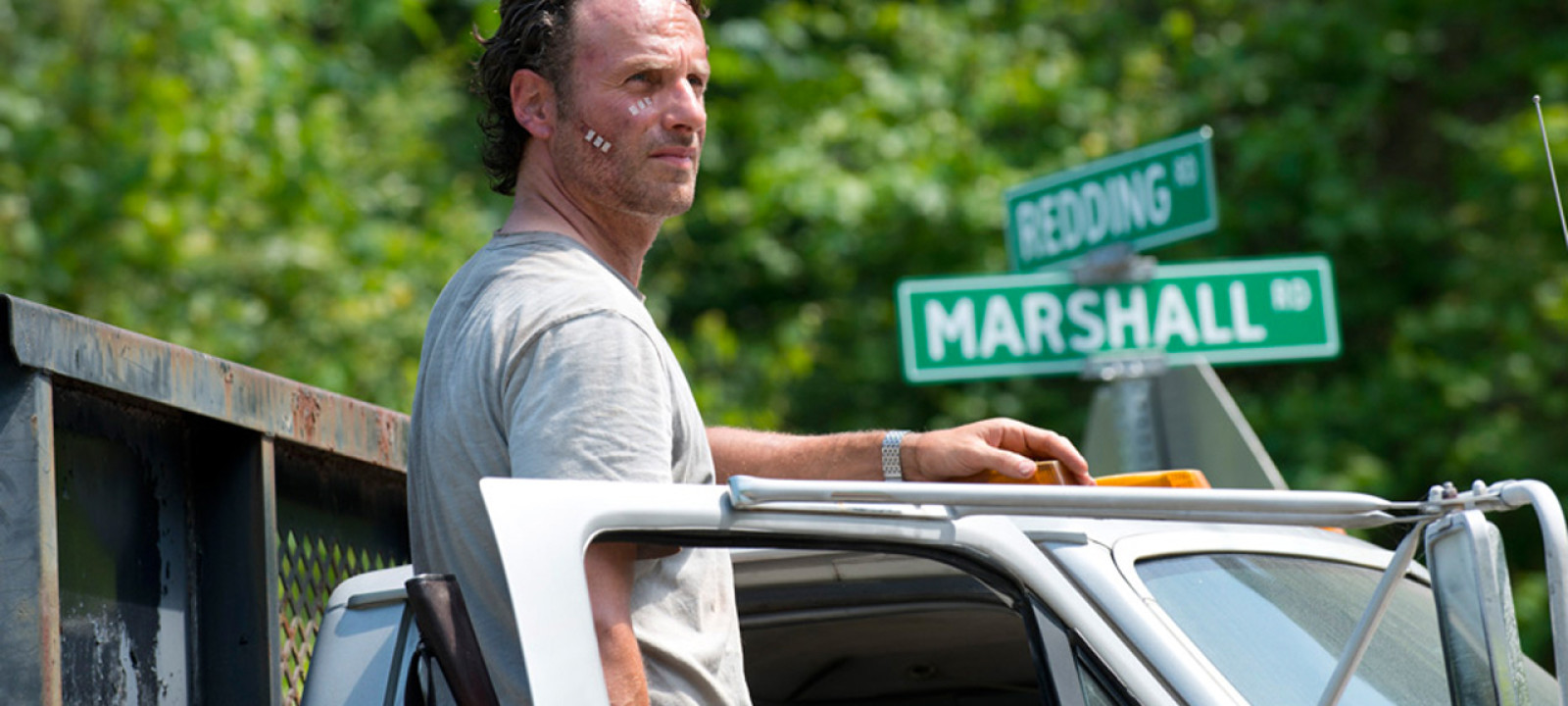 Andrew Lincoln in 'The Walking Dead' (Pic: Gene Page/AMC)