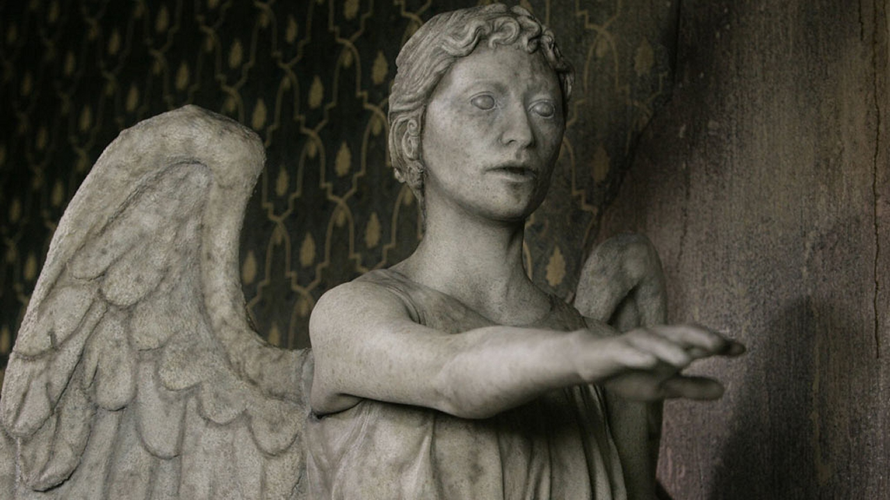 A Weeping Angel. (Pic: BBC)