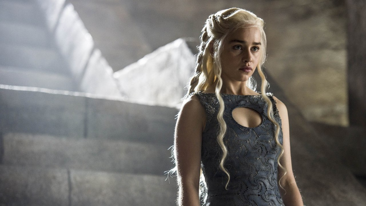Emilia Clarke in 'Game of Thrones.' (Pic: HBO)