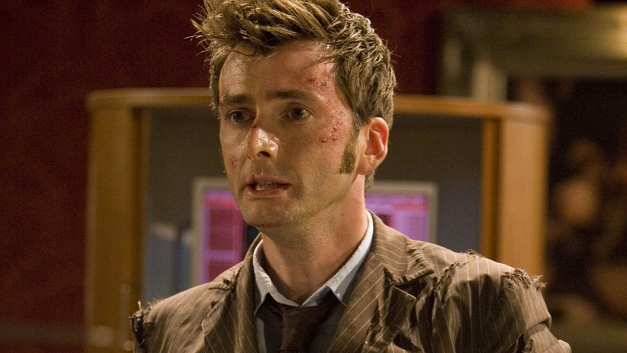 David Tennant as the Doctor in 'The End of Time' (Photo: BBC)