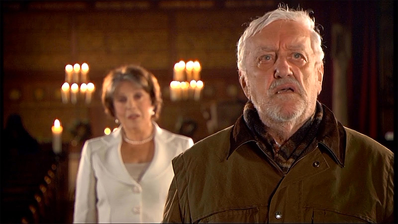 Claire Bloom and Bernard Cribbins in 'The End of Time' (Photo: BBC)