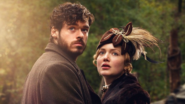 Richard Madden and Holliday Grainger in 'Lady Chatterley's Lover' (Photo: BBC)