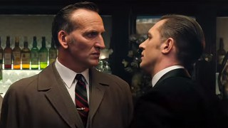 Christopher Eccleston and Tom Hardy in 'Legends' (Photo: Studio Canal)