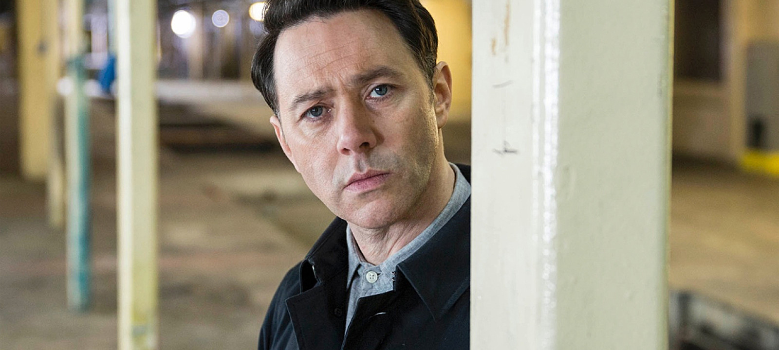Reece Shearsmith in 'Chasing Shadows' (Pic: ITV)