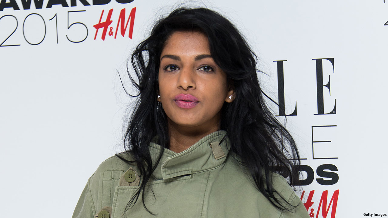 London-born rapper M.I.A., one of the few U.K. rap stars to have a U.S.-charting hit. (Photo: Ian Gavan/Getty Images)