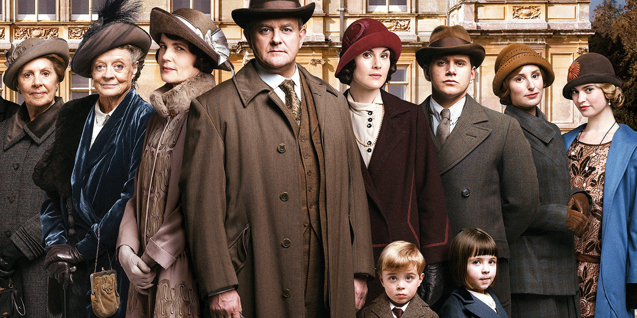 We get one last look at the cast of 'Downton Abbey' together, heading into the final season. (PBS)