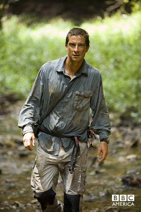 Bear Grylls in Panama.