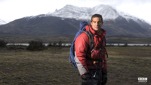 Bear Grylls in Patagonia.
