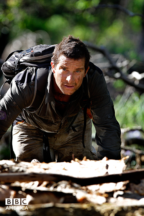 Bear Grylls in Northern Australia.