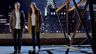 Arthur Darvill and Karen Gillan in 'The Angels Take Manhattan' (Photo: BBC AMERICA)