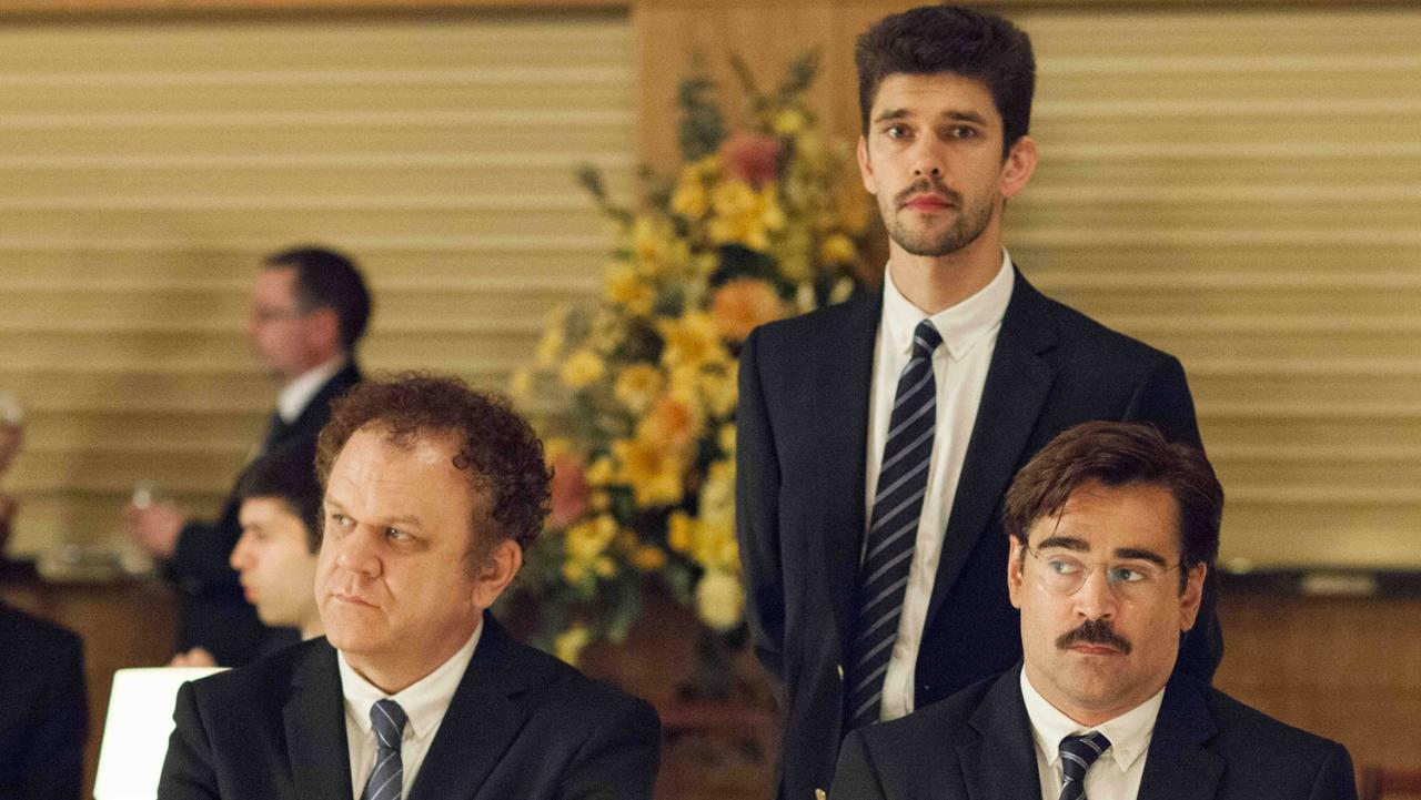 John C. Reilly, Ben Whishaw and Colin Farrell in 'The Lobster' (Photo: Picturehouse Entertainment)