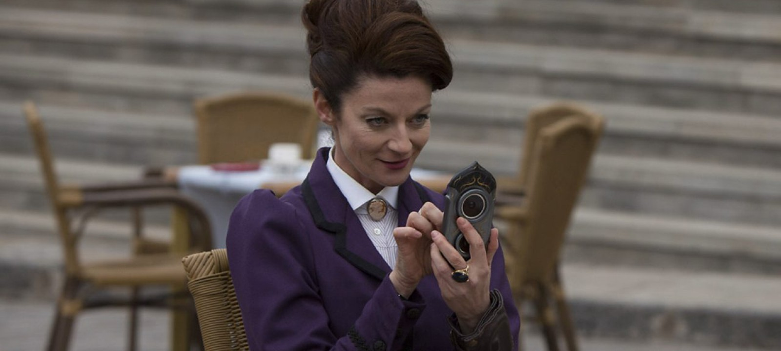 Michelle Gomez as Missy in 'The Magician's Apprentice' (Photo: BBC)