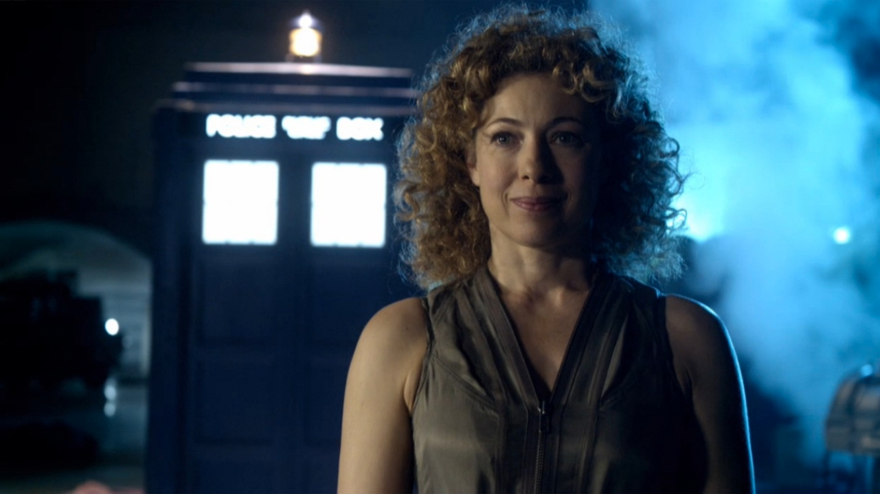 Alex Kingston as River Song in 'Doctor Who' (Photo: BBC)