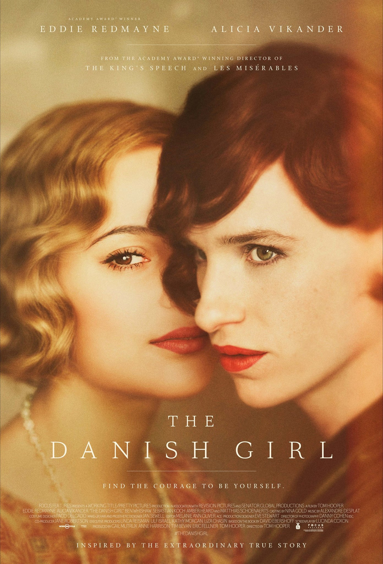 'The Danish Girl' poster (Photo: Focus Features)