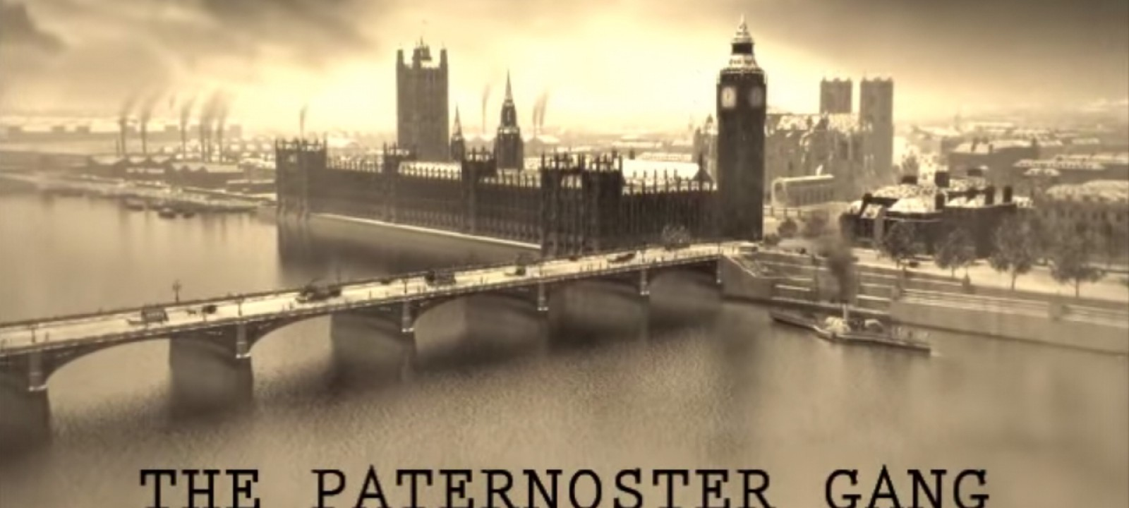 'The Paternoster Gang' (Photo: BBC/YouTube)