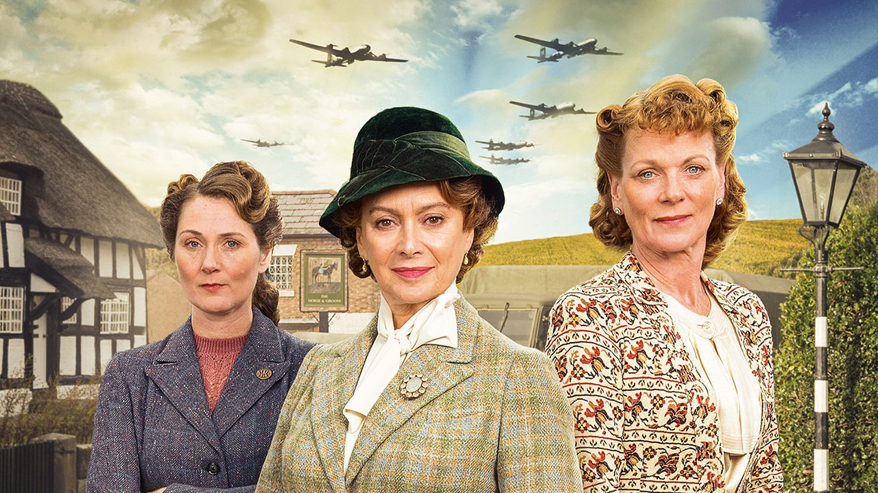 "The cast of PBS' ""Home Fires."" (Photo: Masterpiece)"
