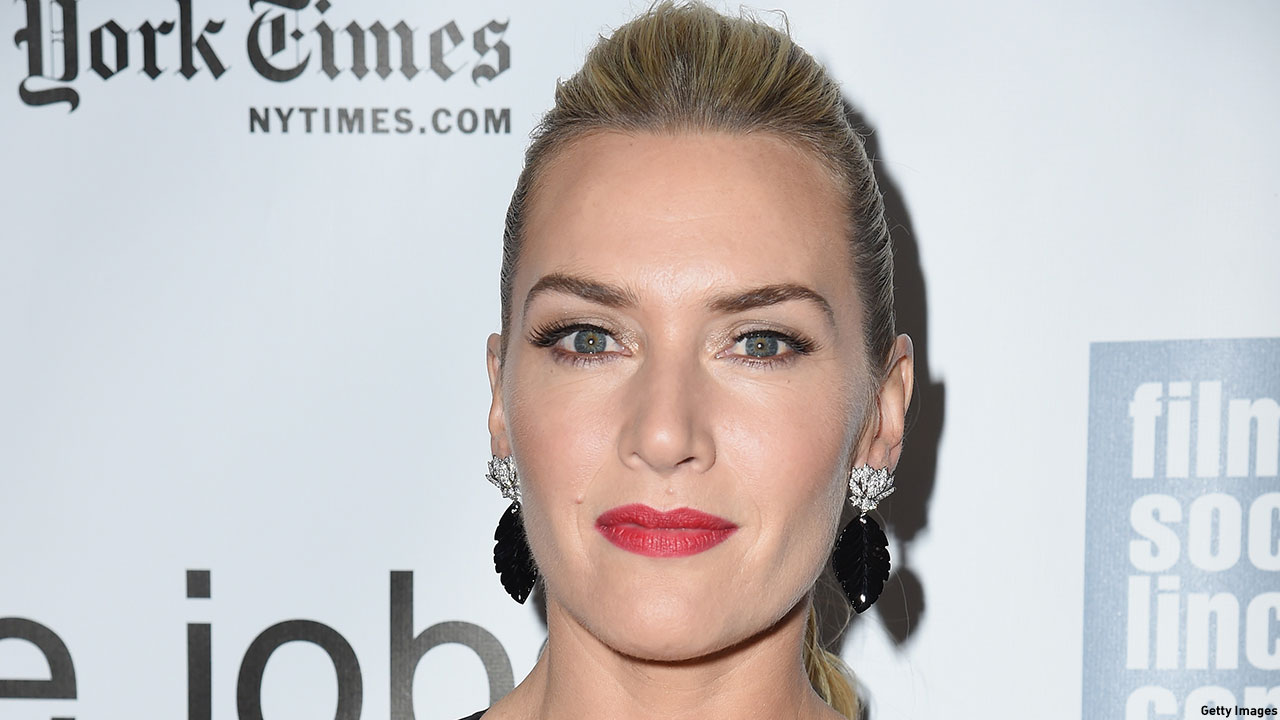 Kate Winslet at the New York Film Festival premiere of 'Steve Jobs.' (Photo: Nicholas Hunt/Getty Images)