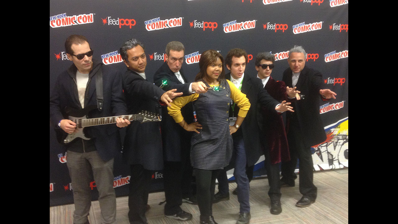 The Twelfth Doctors and Clara (of course). (Photo: BBC AMERICA)