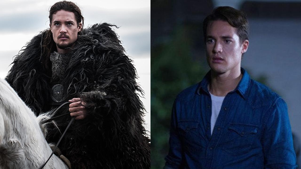 Alexander Dreymon stars in 'The Last Kingdom' (left) and 'American Horror Story.' (Photos: BBCA/FX)