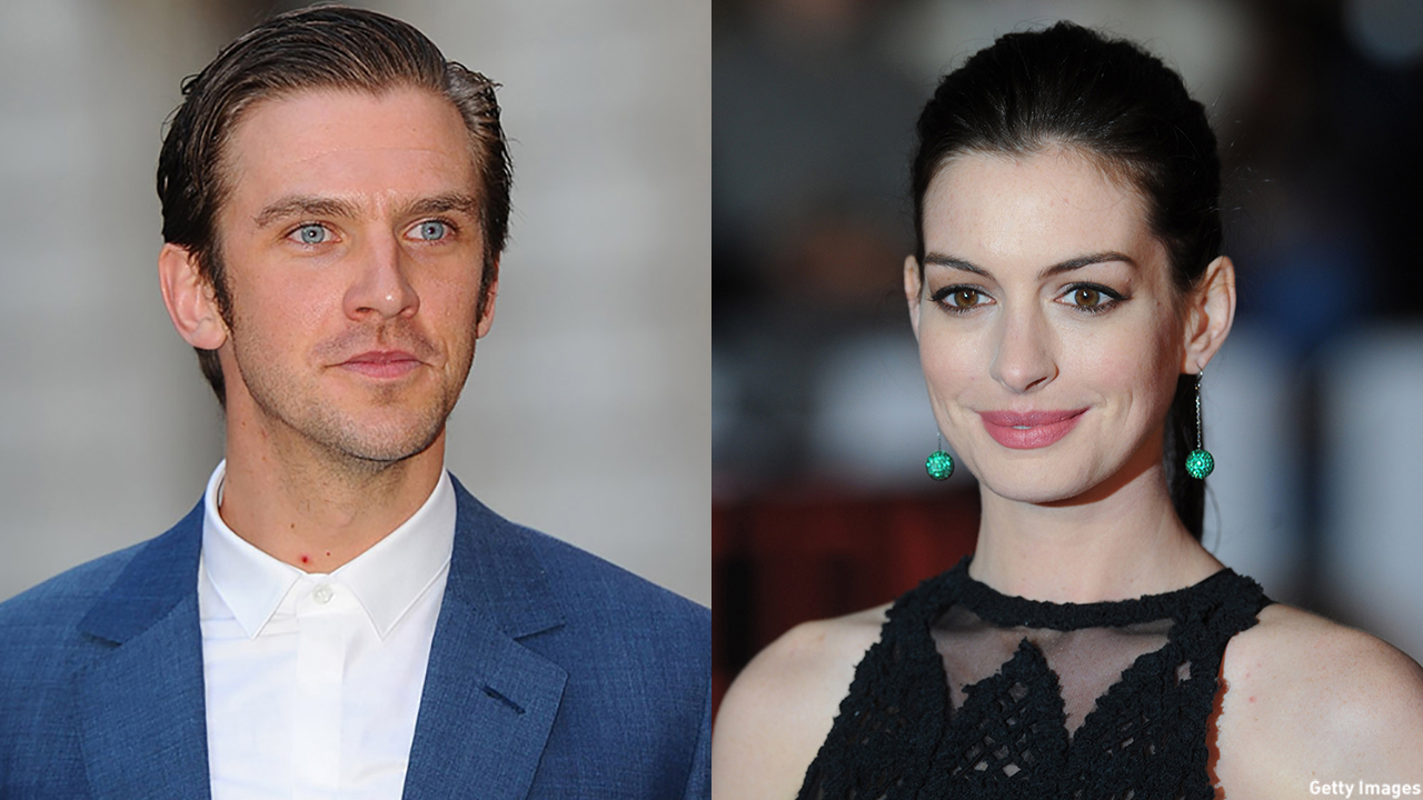 Dan Stevens and Ann Hathaway set to star in 'Collasol.' (Getty Images)