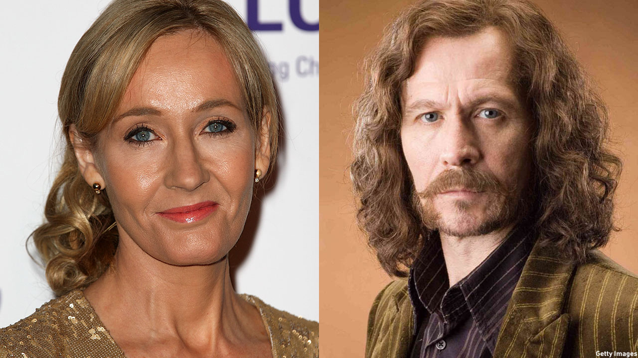 J.K. Rowling has people asking about Sirius Black's birthday. (Getty Images/Warner Bros.)