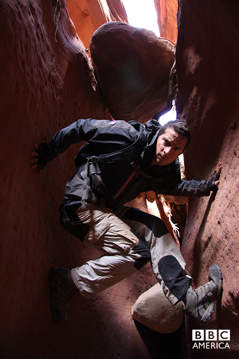 Bear Grylls in Red Rock Country.