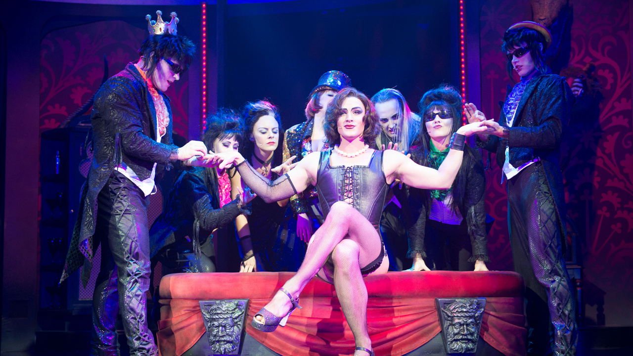 Meet the cast of the new 'Rocky Horror Show' on October 17. (BBC America)