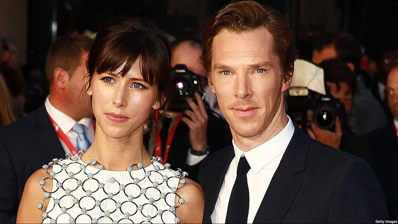 Sophie Hunter and Benedict Cumberbatch (Photo: Fred Duval/Getty Images)