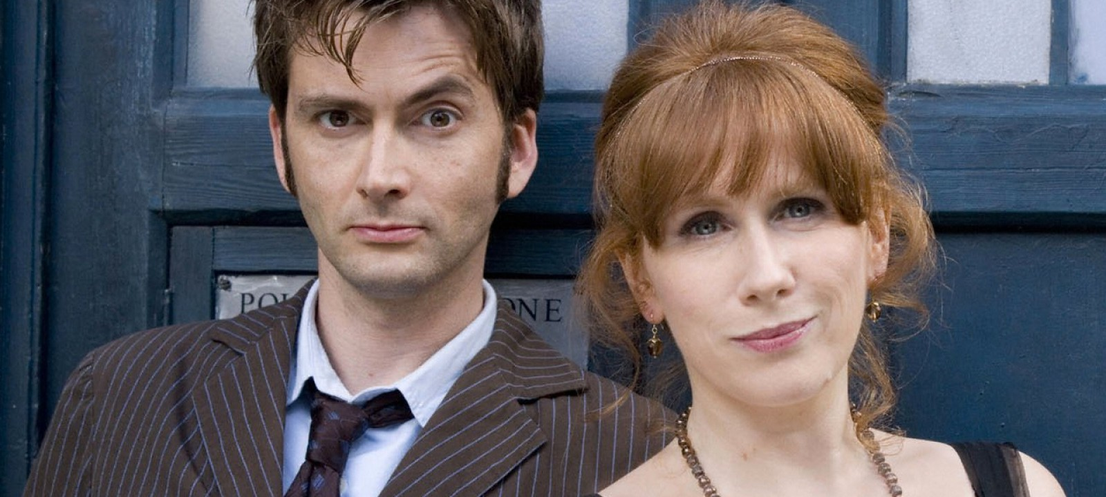 David Tennant and Catherine Tate in 'Doctor Who' (Photo: BBC)