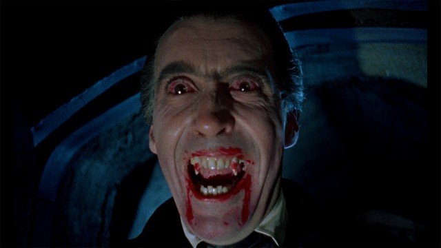 Christopher Lee in 'Horror of Dracula' (Photo: Hammer FIlms)