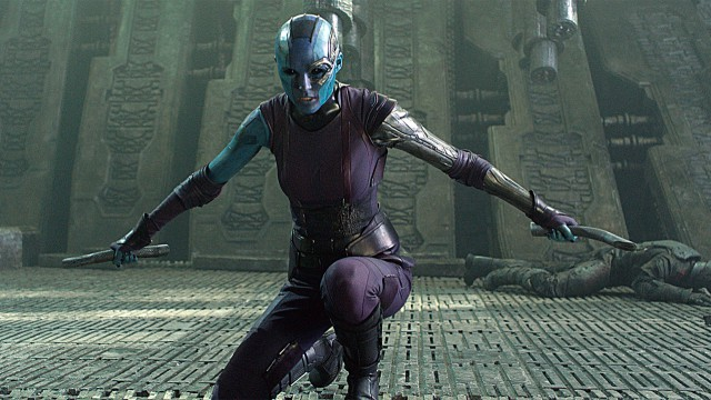 Karen Gillan as Nebula in 'Guardians of the Galaxy' (Photo: Marvel)