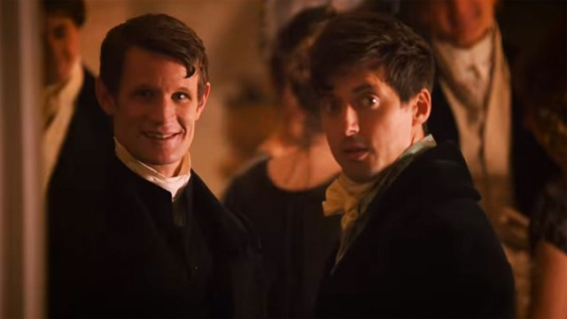 Matt Smith in 'Pride and Prejudice and Zombies (Photo: Lionsgate)