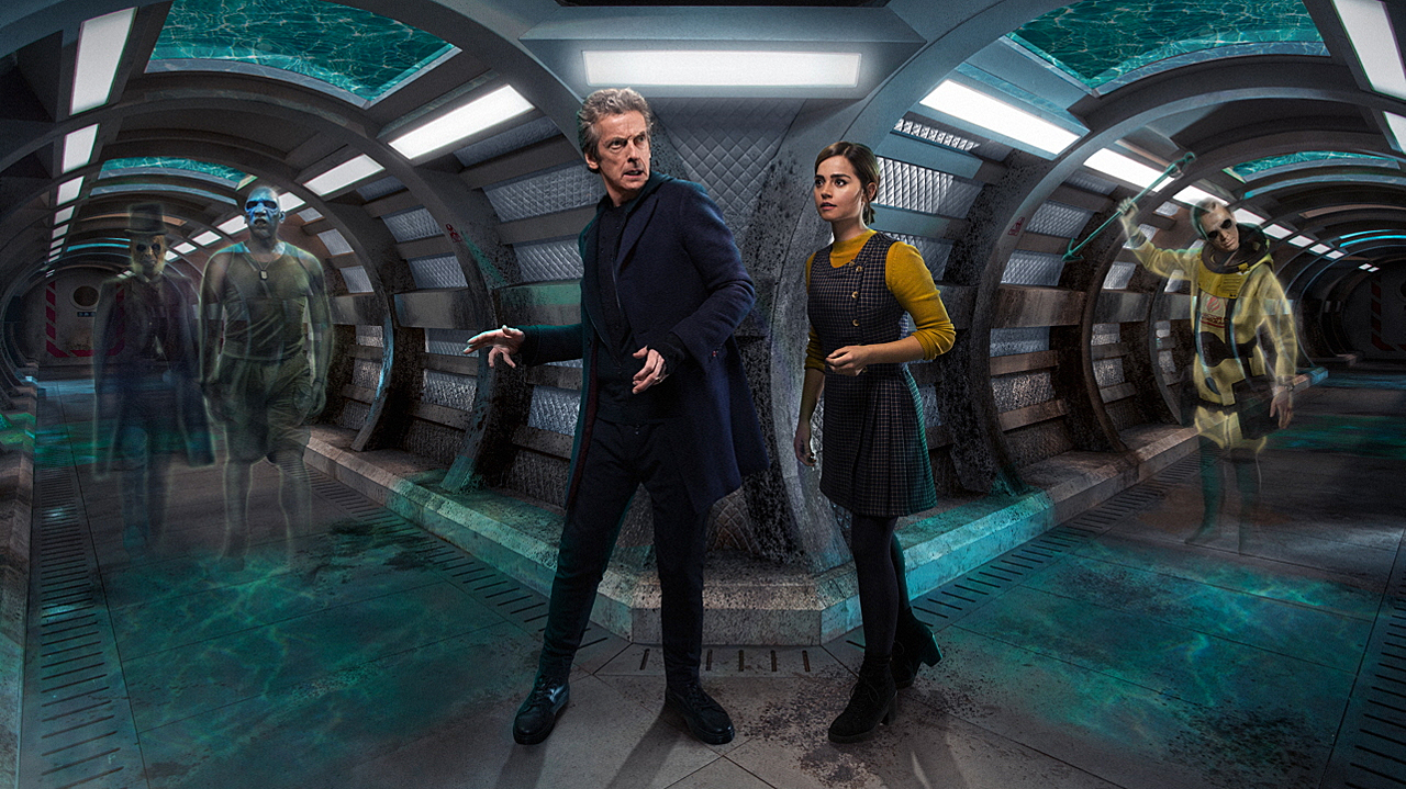 Doctor Who - 'Under The Lake' (Photo: BBC)