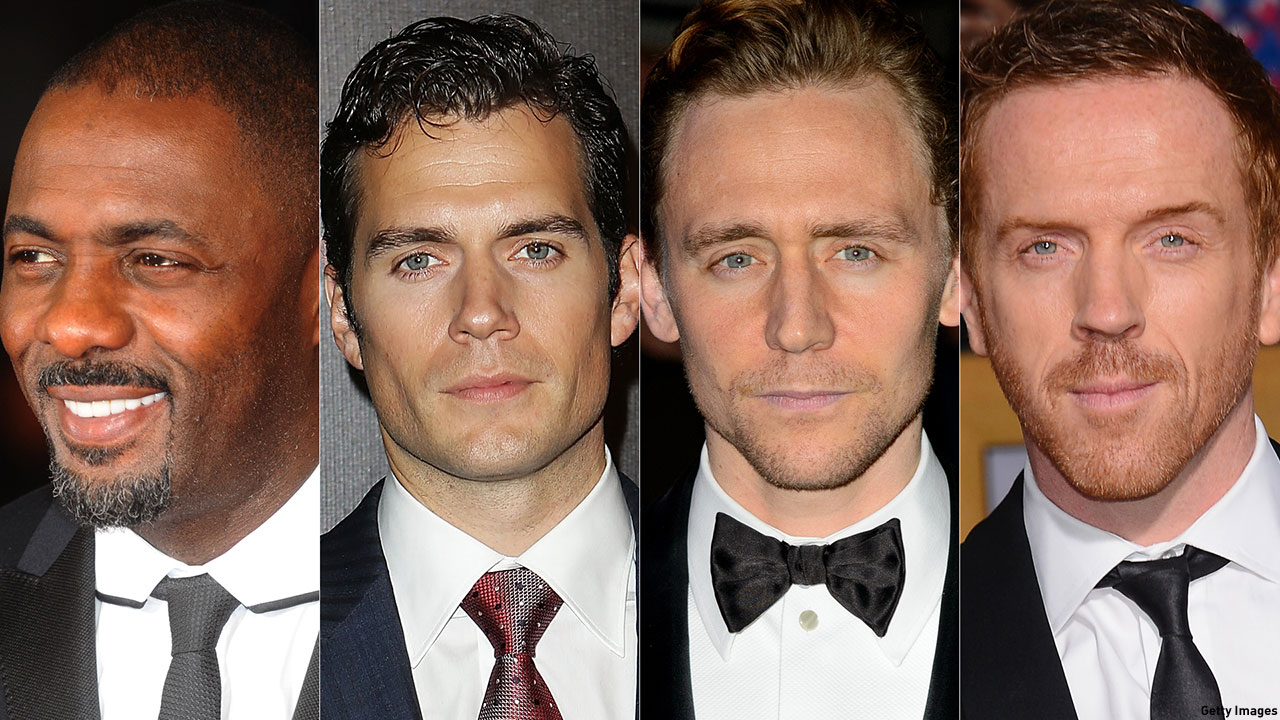 A few of the many possible faces for a new Bond.