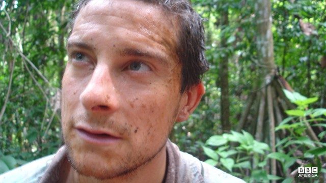 Bear Grylls in the Costa Rican Rainforest.
