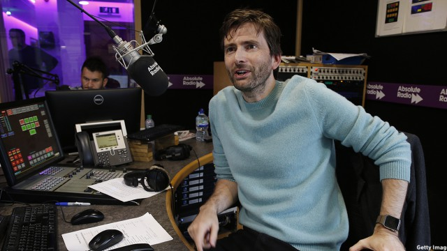 David Tennant Visits Absolute Radio
