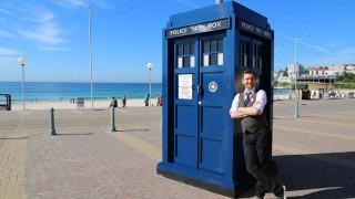 The Lego TARDIS (Photo: BBC)