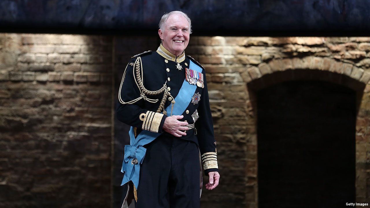 Tim Pigott-Smith as Charles in 'King Charles III' at Broadway's Music Box Theatre. (Photo: Jemal Countess/Getty Images)