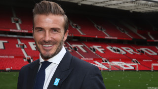 David Beckham UNICEF Charity Match Press Conference